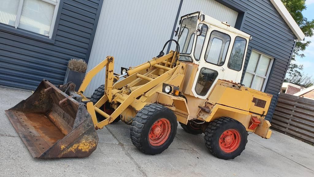 Paus RL350 wiellader loader, Wielladers, Bouw