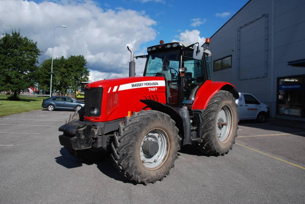Massey Ferguson 7497, Traktorid, Põllumajandus