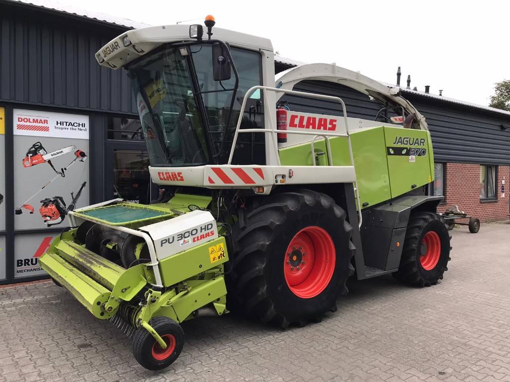 CLAAS Jaguar 870 Profistar, Forage harvesters, Agriculture