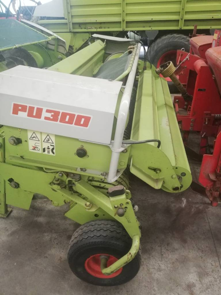CLAAS PU 300, Forage harvesters, Agriculture