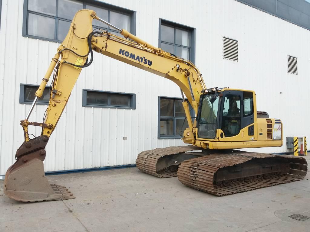 Komatsu PC160LC-8 LGP model, Crawler Excavators, Construction Equipment