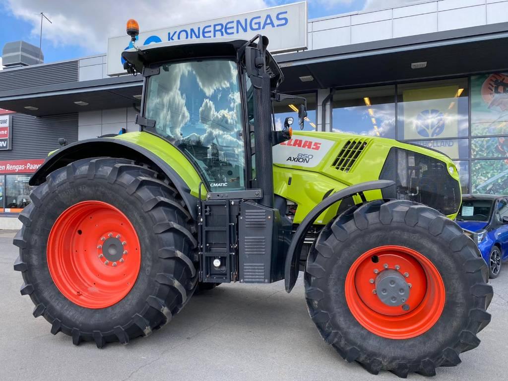CLAAS Axion 850 Cmatic, Traktorit, Maatalous
