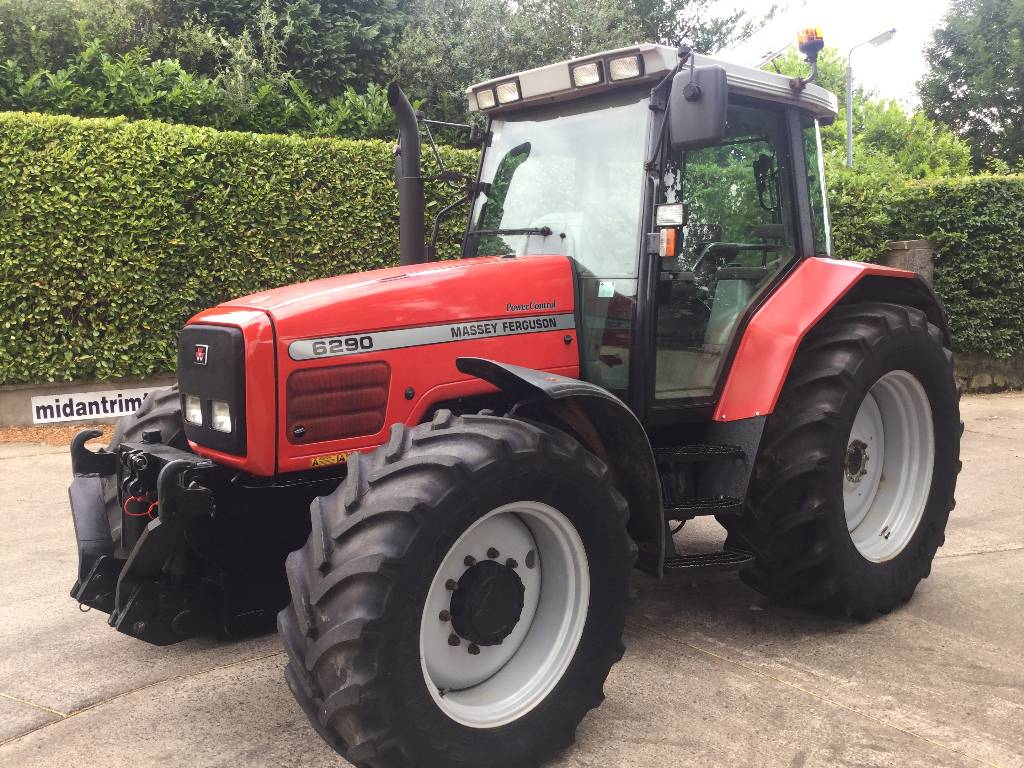 Massey Ferguson 6290 Dynashift c w F Links PTO