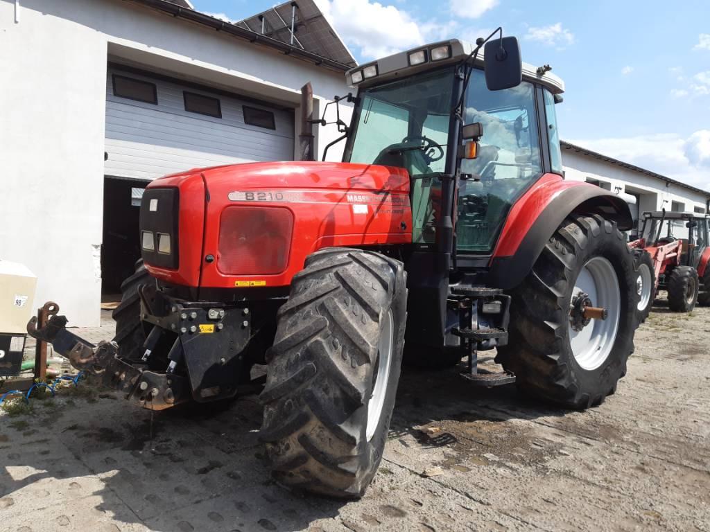 Massey Ferguson 8210, Traktory, Maszyny rolnicze