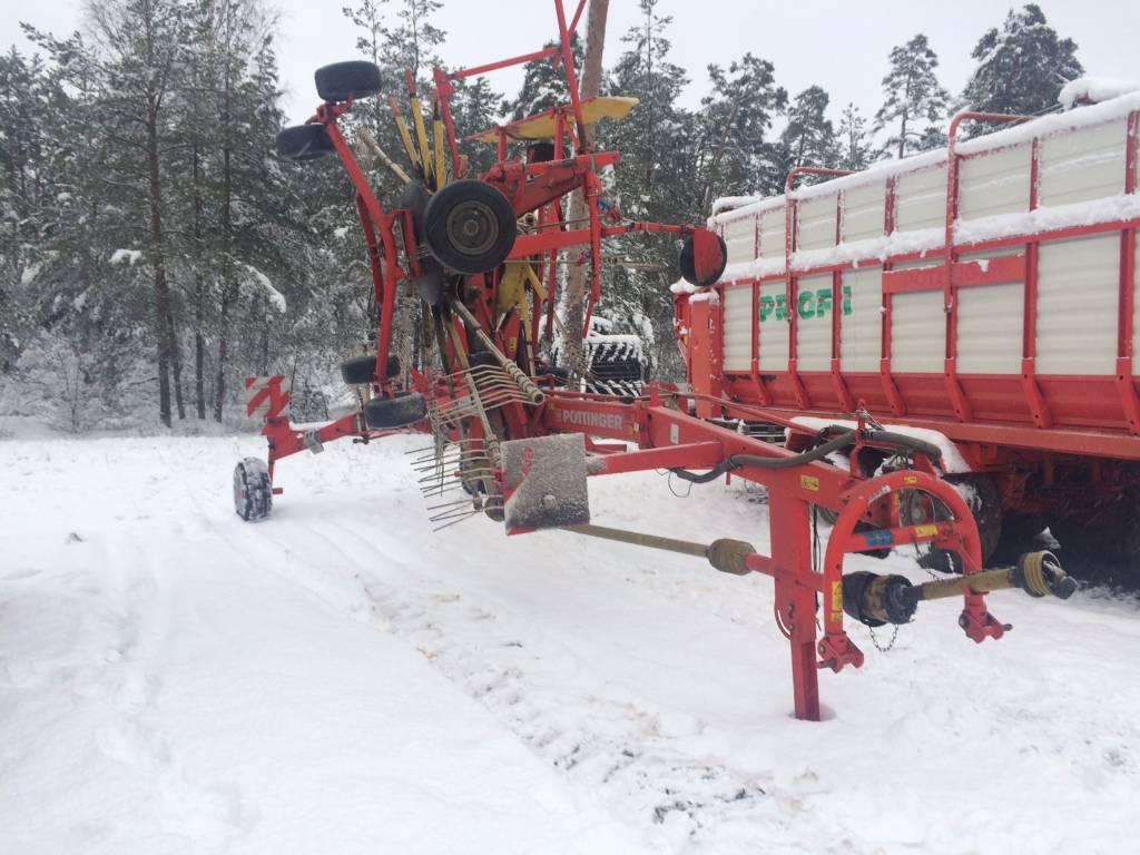 Pöttinger EuroTop 851 A, Vaalutid, Põllumajandus