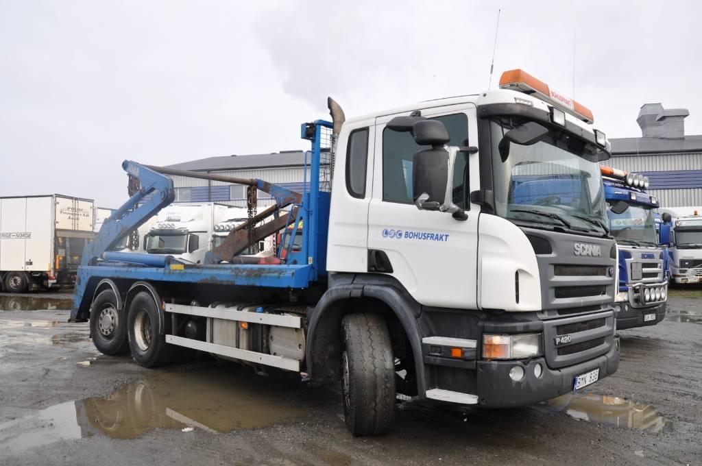 Scania P420LB6X2*4HNB, Liftdumperbilar, Transportfordon