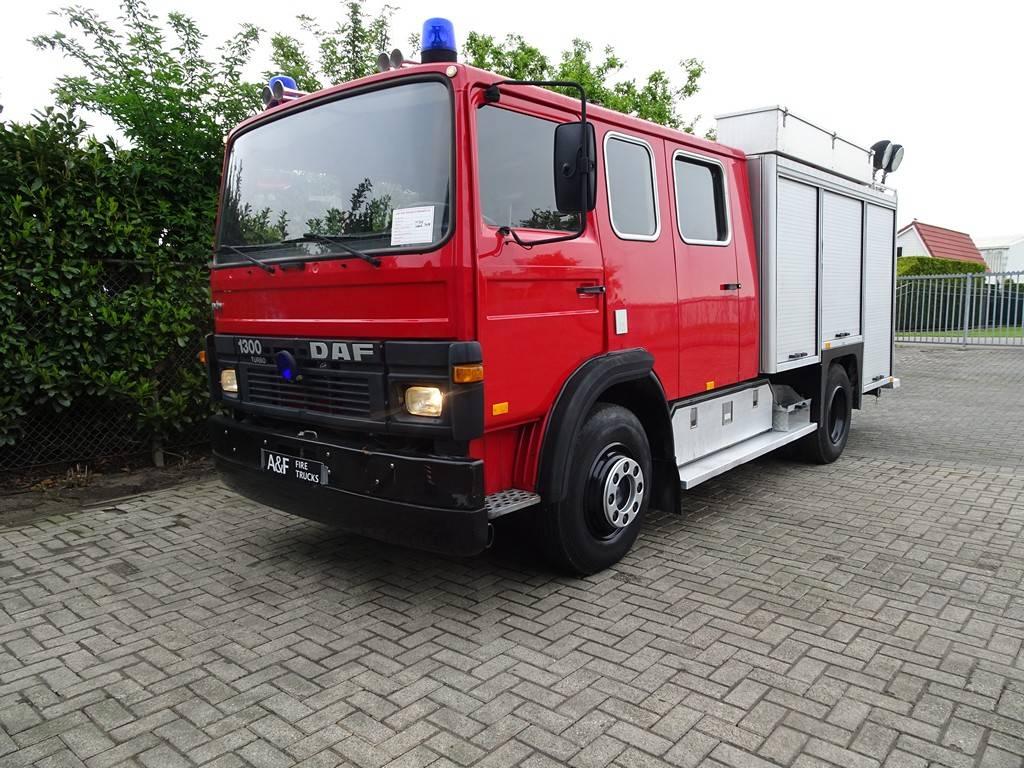 DAF 1300 Turbo Ziegler, Fire trucks, Transportation
