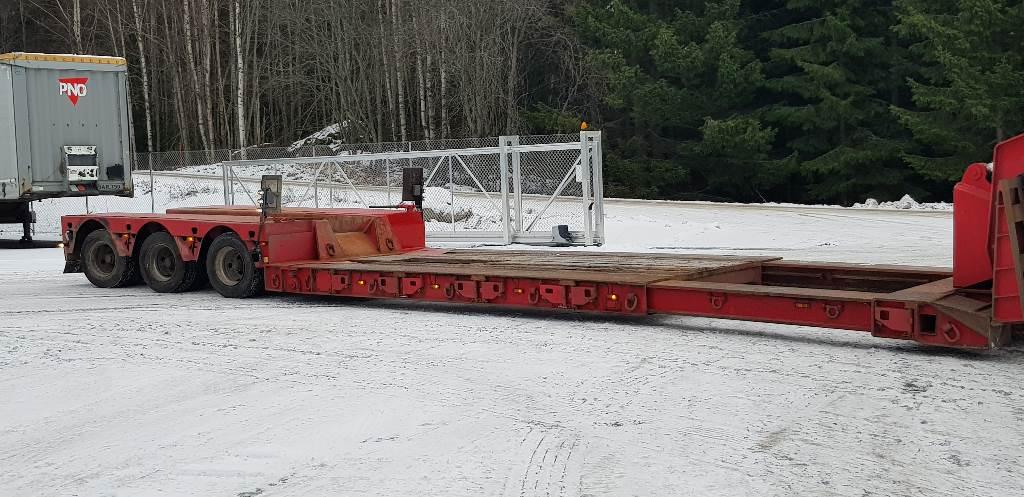 Faymonville STZBZ-3VA, Puoliperävaunulavetit, Kuljetuskalusto