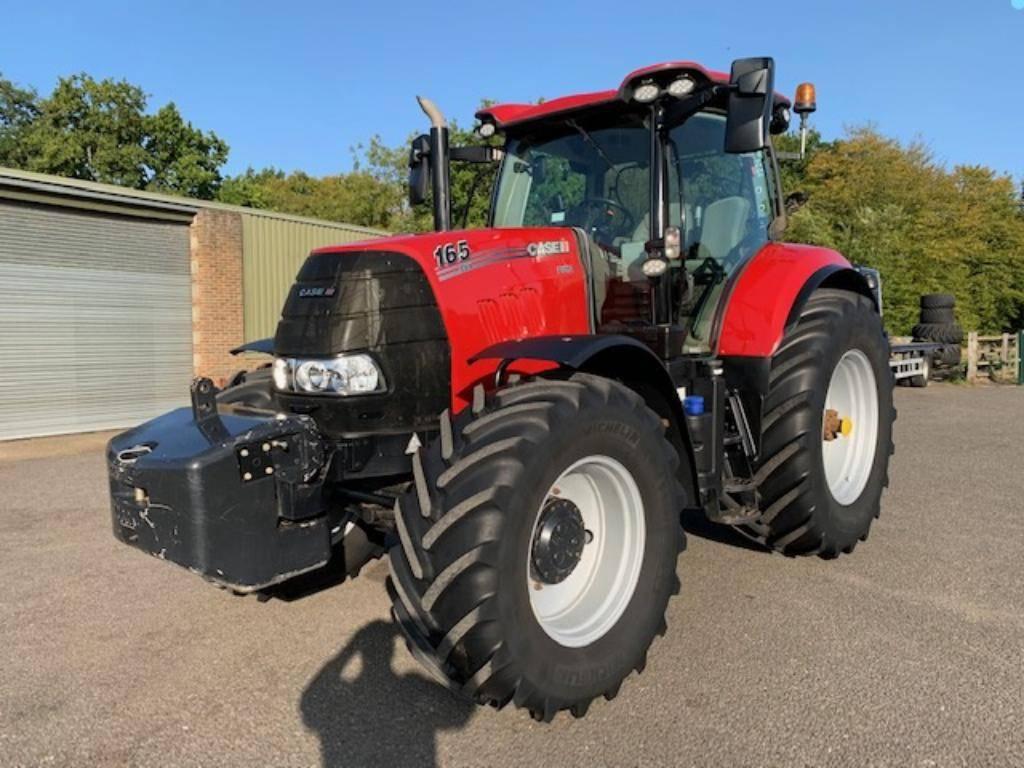 Case IH PUMA 165 CVX, Tractors, Agriculture