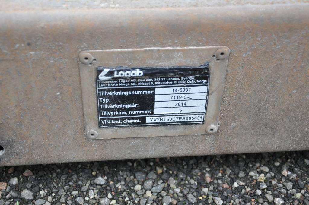 Lagab 7119-C-L, Plattformar, Transportfordon