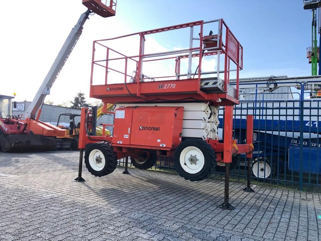 Snorkel SR 2770, Schaar hoogwerker 4x4, diesel, Schaarhoogwerkers, Bouw
