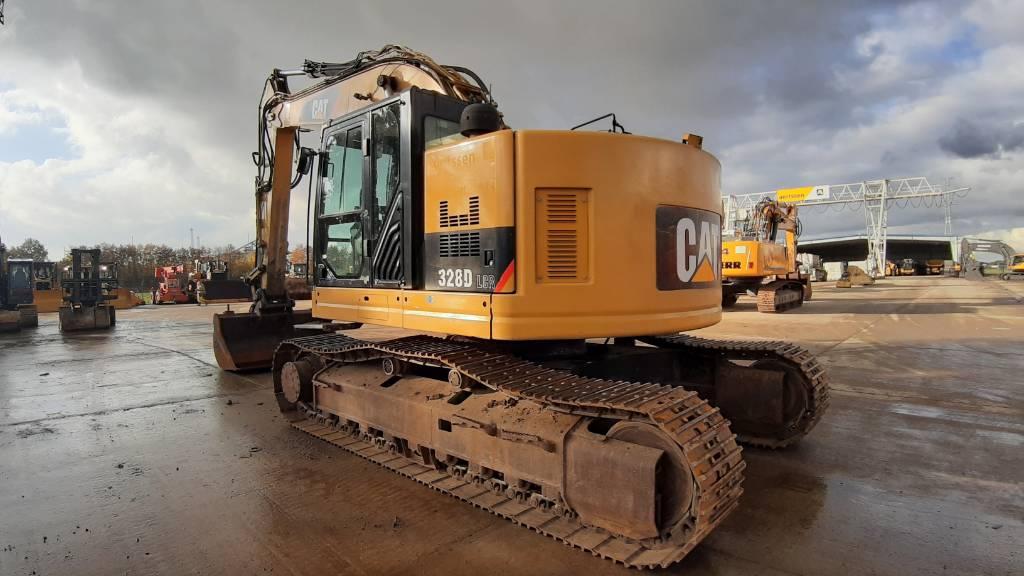 Caterpillar 328 D LCR, Crawler excavators, Construction