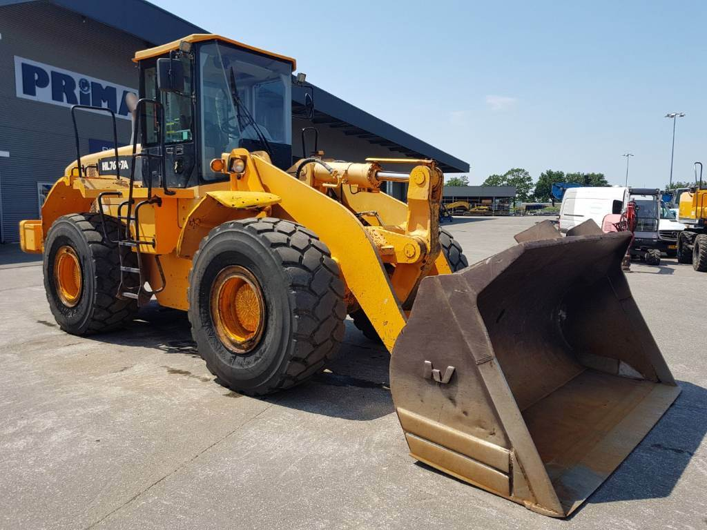 Hyundai HL 760-7 A, Wheel Loaders, Construction Equipment
