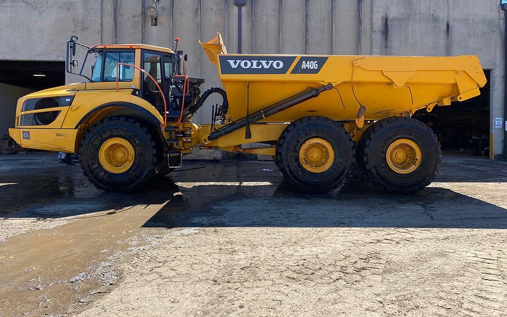 Volvo A40G, Articulated Trucks, Construction Equipment