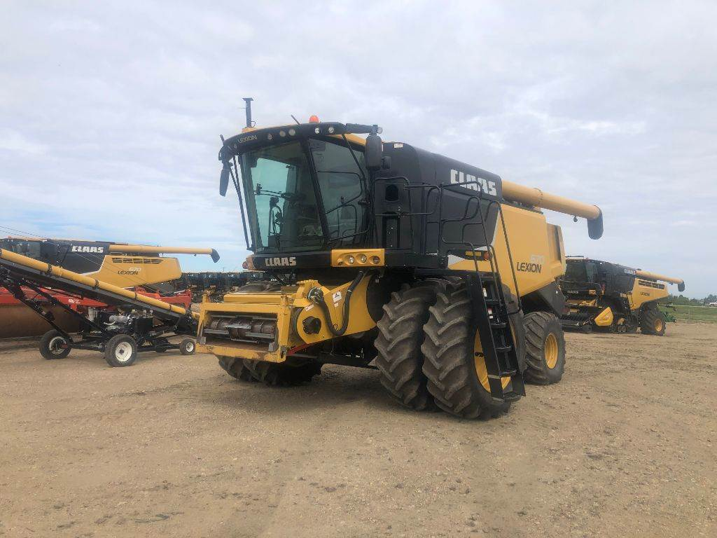 CLAAS LEXION 670, Combines, Agriculture