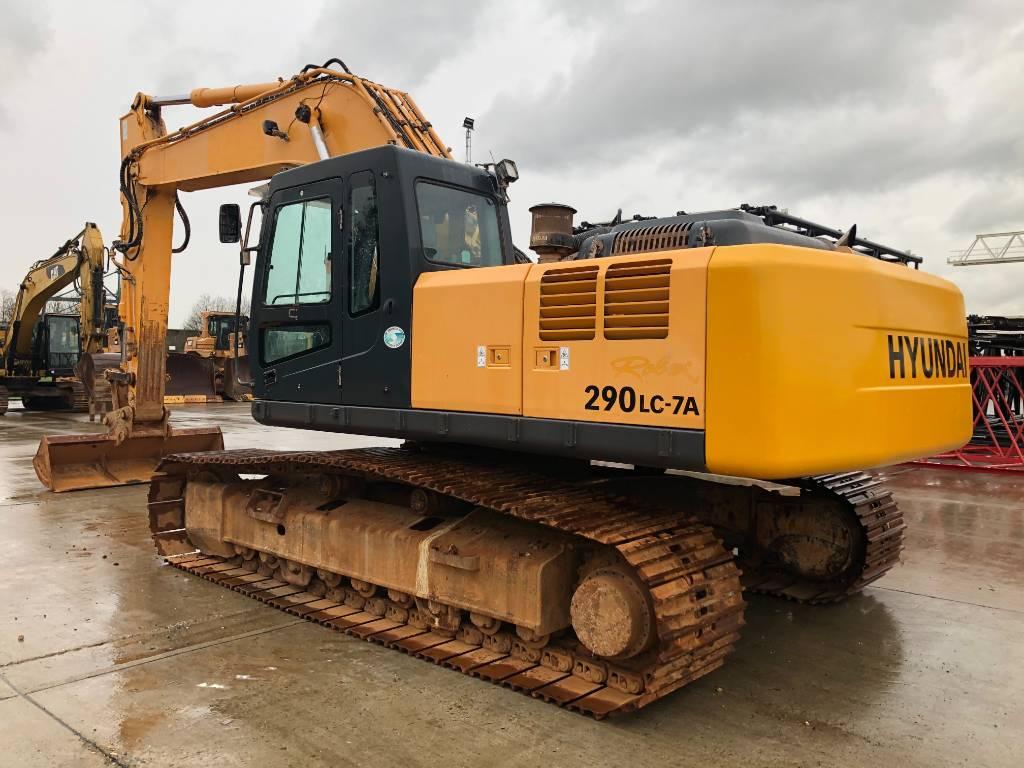 Hyundai 290 LC-7 A, Crawler excavators, Construction