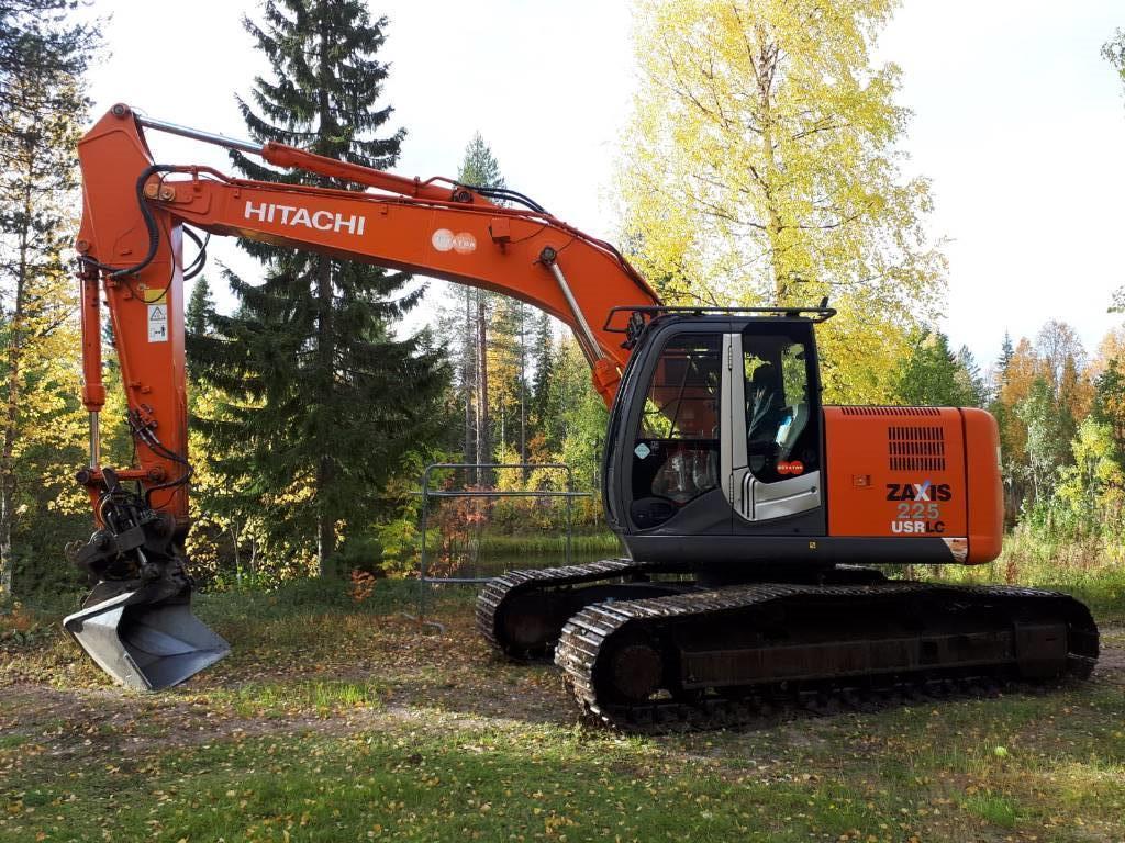 Hitachi ZX 225 USR LC, Crawler excavators, Construction
