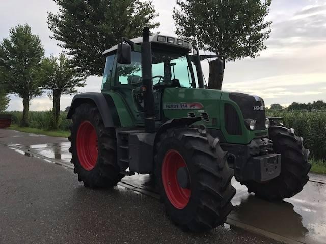 Fendt 714 TMS, Tractoren, Landbouw