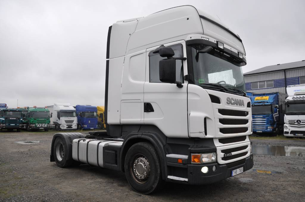 Scania R400 LA4X2MNA, Dragbilar, Transportfordon