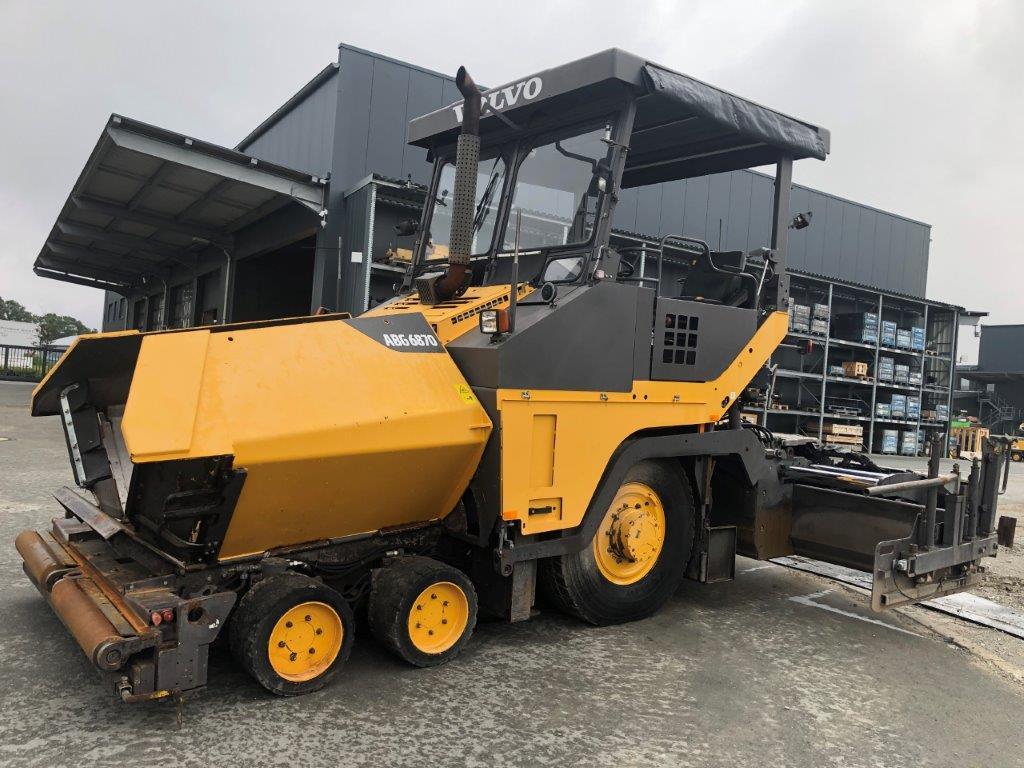 ABG P6870, Asphalt pavers, Construction Equipment