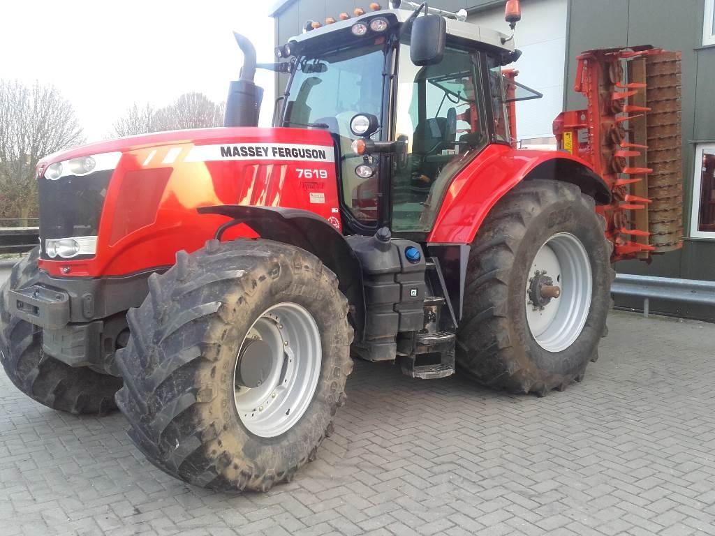 Massey Ferguson 7619 DVT Exclusive, Tractoren, Landbouw