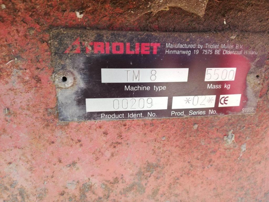 Trioliet TM 8, Mixer feeders, Agriculture