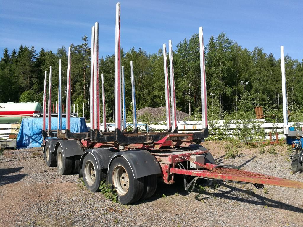Weckman Jatkettava/Extendable, Puuperävaunut, Kuljetuskalusto