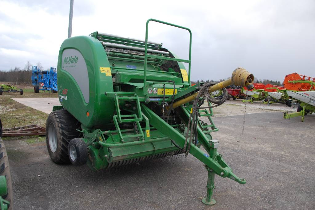 McHale F5600 Plus, Round balers, Agriculture