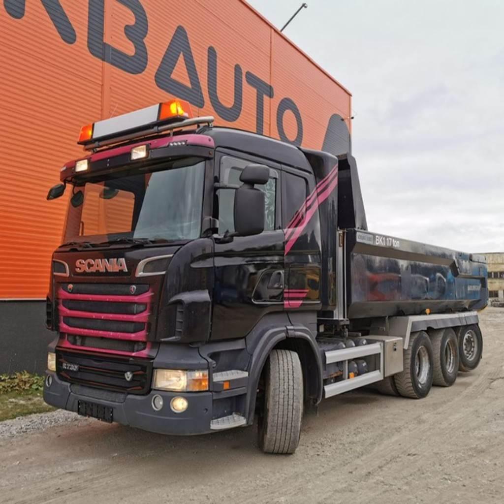 Scania R 730 8x4*4, Dump Trucks, Trucks and Trailers