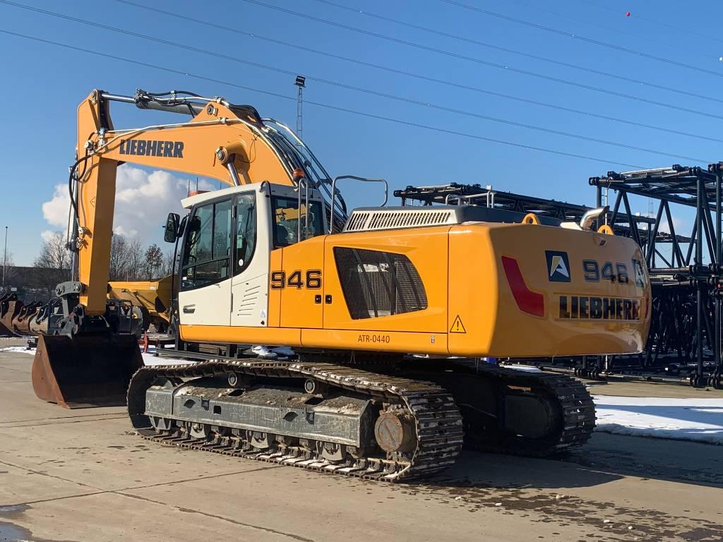 Liebherr R 946 LC, Crawler excavators, Construction
