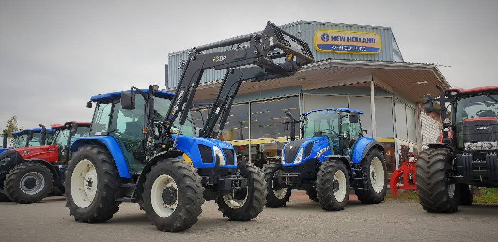 New Holland TL90A, Traktorit, Maatalous