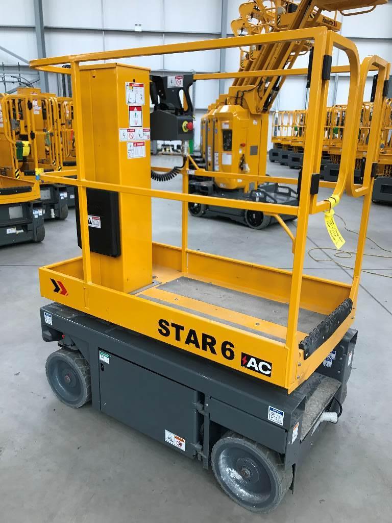 Haulotte STAR6, Vertical mast lifts, Construction Equipment