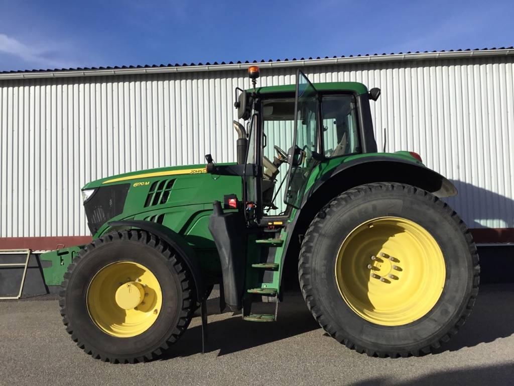 John Deere 6170 M, Traktorer, Lantbruk