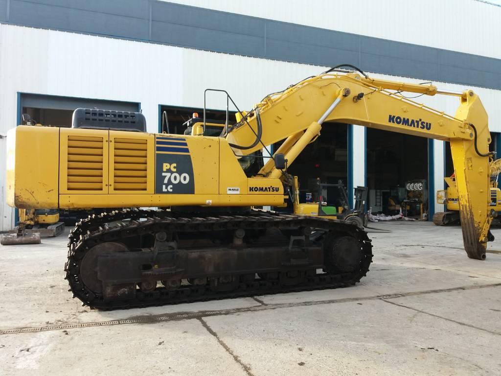 Komatsu PC700LC-8, Crawler Excavators, Construction Equipment