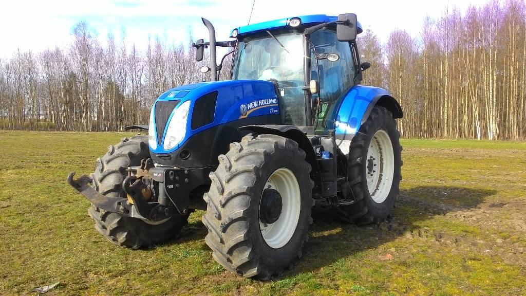 New Holland T 7.200 PC, Traktorid, Põllumajandus