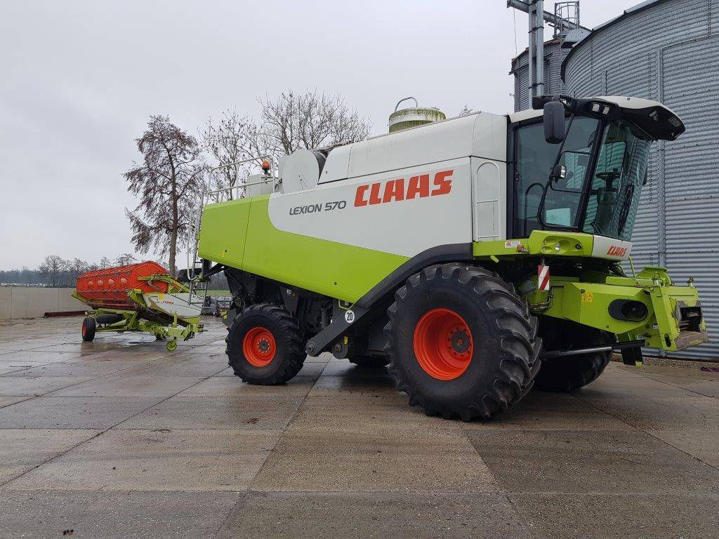 CLAAS Lexion 570, Combines, Agriculture