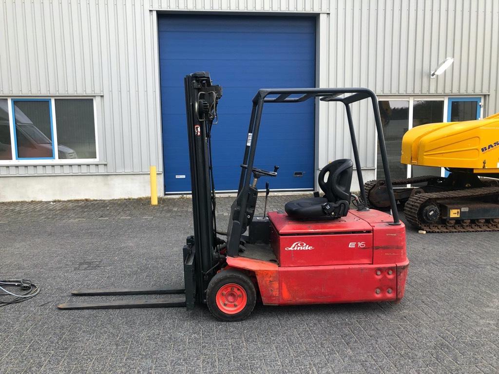 Linde E16S, Heftruck, 1600 kg, Elektro, Elektrische heftrucks, Laden en lossen