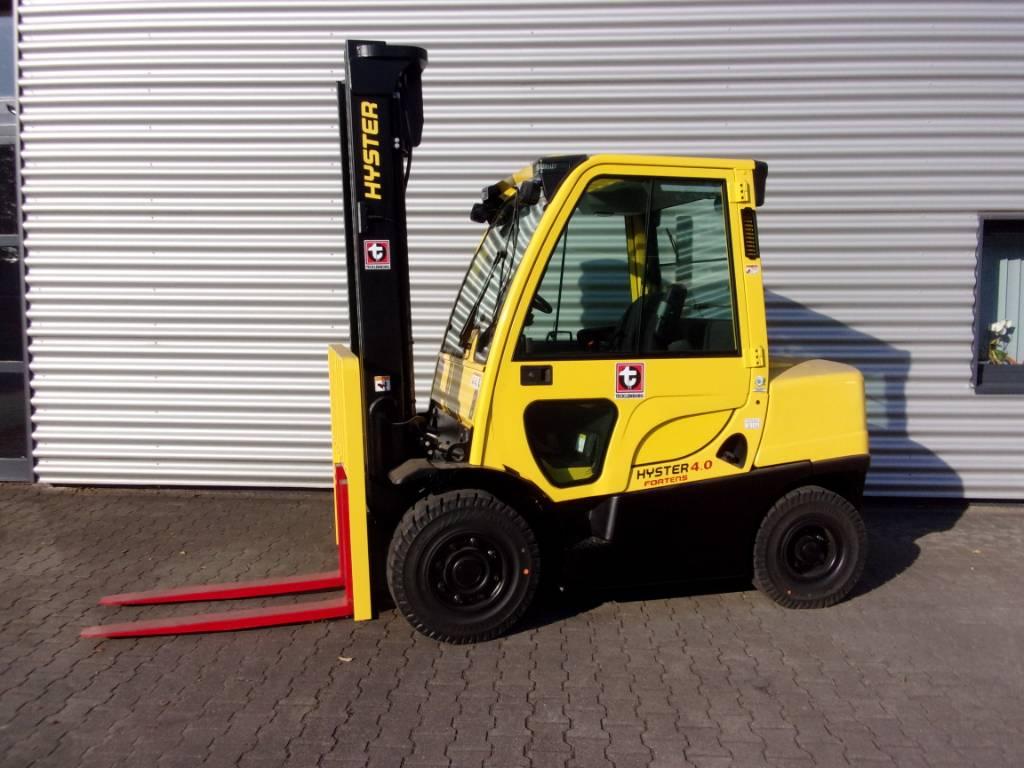 Hyster H 4.00 FT, Diesel Stapler, Flurförderzeuge