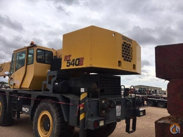 Grove RT 540 E, Crane Parts and Equipment, Construction Equipment
