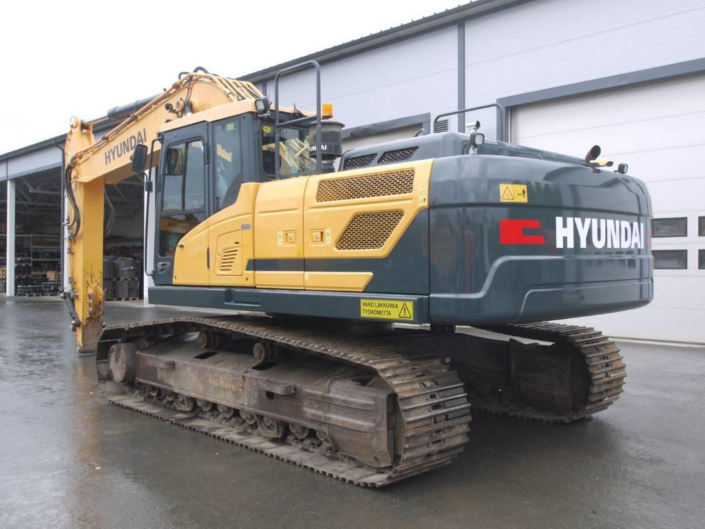 Hyundai HX 300 L, Telakaivukoneet, Maarakennus