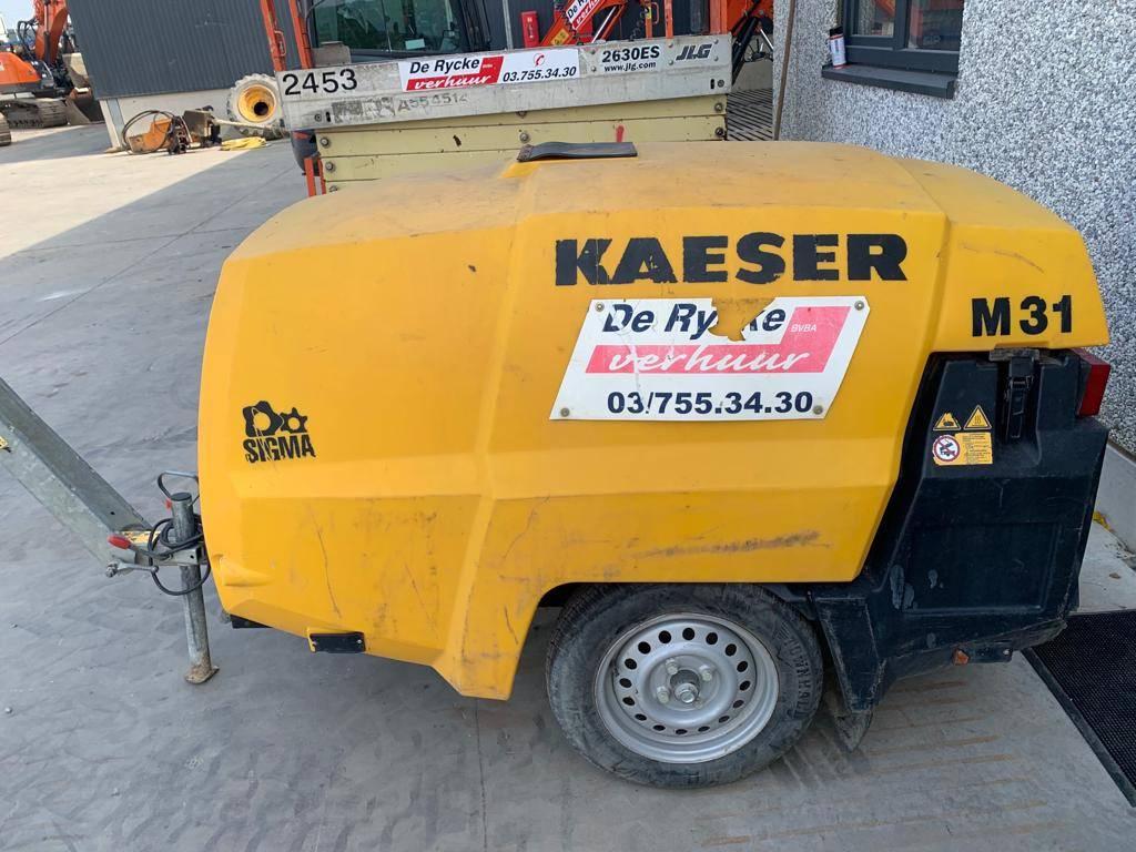 Kaeser M 31, Compressors, Bouw