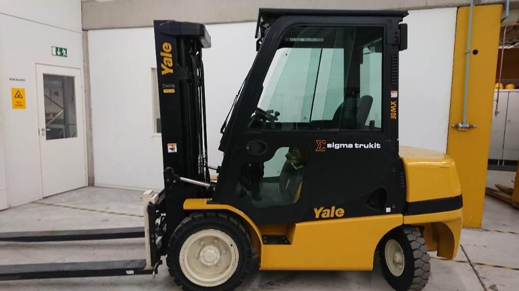 Yale GDP30MX, Dieseltrukit, Materiaalinkäsittely