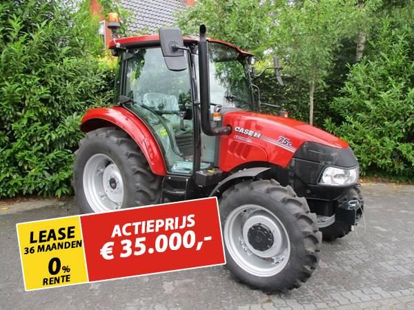 Case IH Farmall 75 C, Tractoren, Landbouw