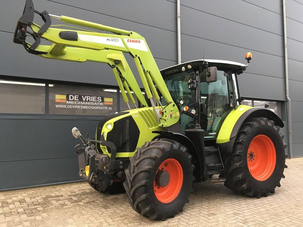 CLAAS Arion 530 C-matic Cebis, Tractors, Agriculture