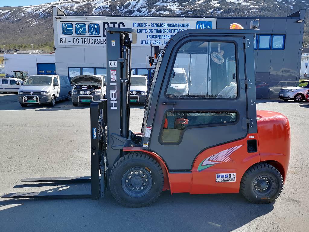 Heli CPCD25 (G2) - 2,5 t diesel - 4,7 m LH (PÅ LAGER), Diesel Trucker, Truck