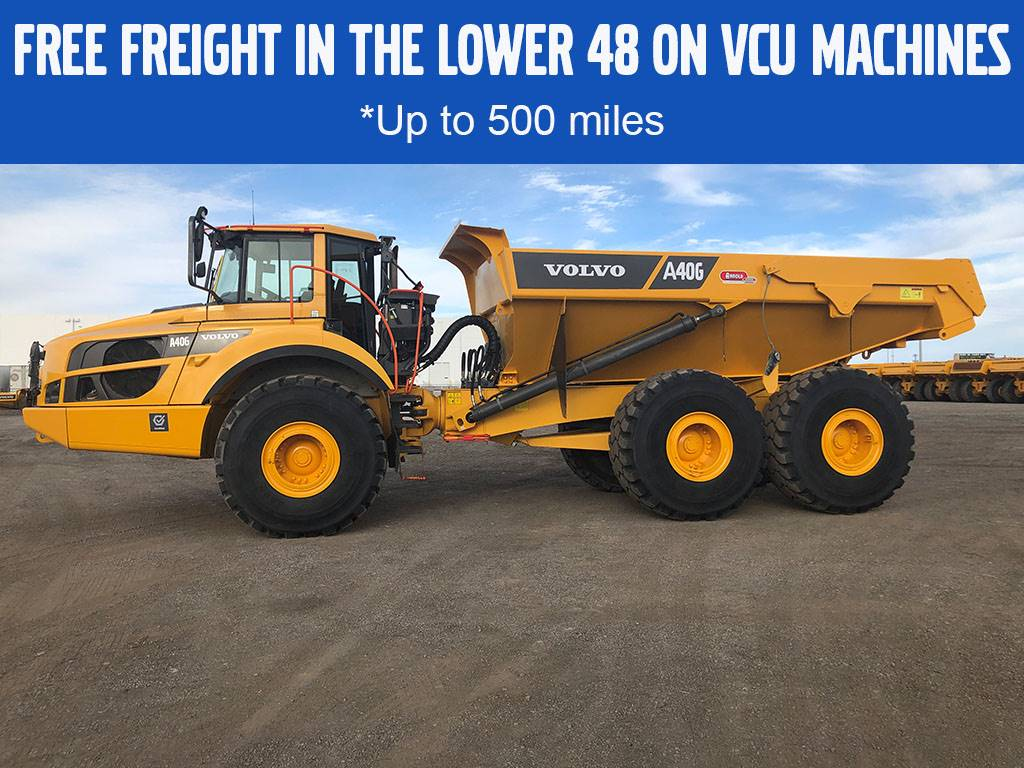 Volvo A40G, Articulated Trucks, Construction Equipment