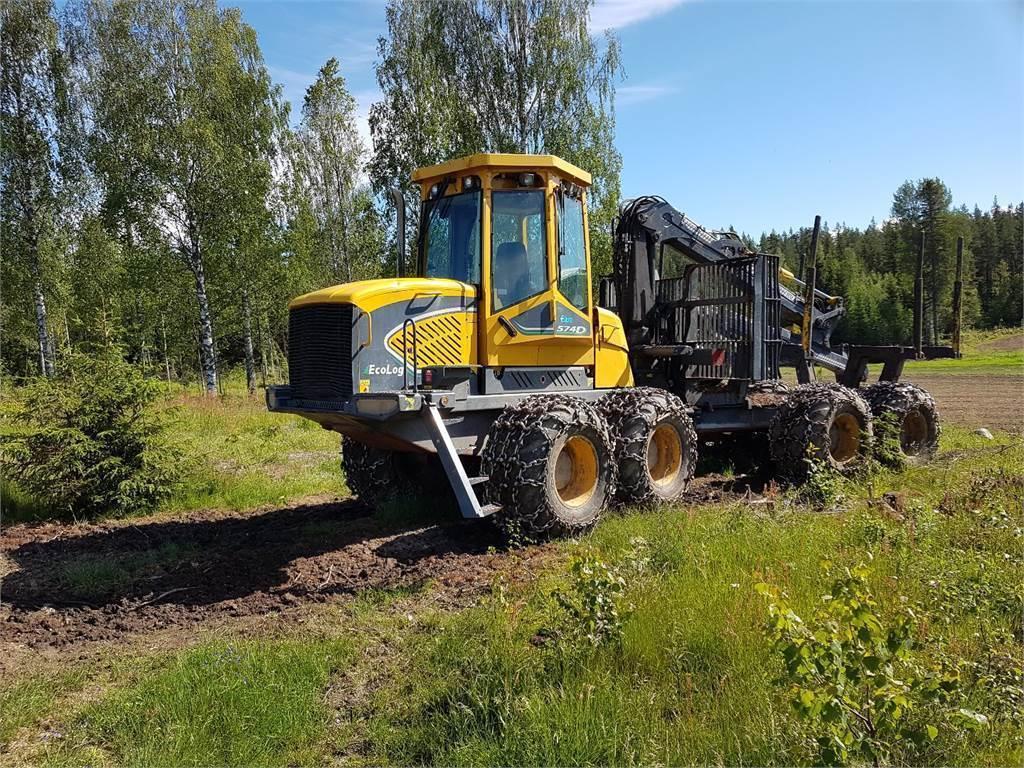 Eco Log 574D, Skotare, Skogsmaskiner