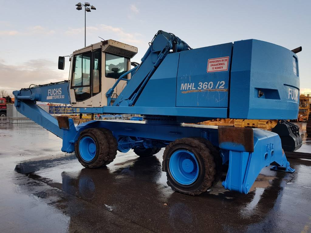 Fuchs MHL 360, Waste / Industry Handlers, Construction Equipment