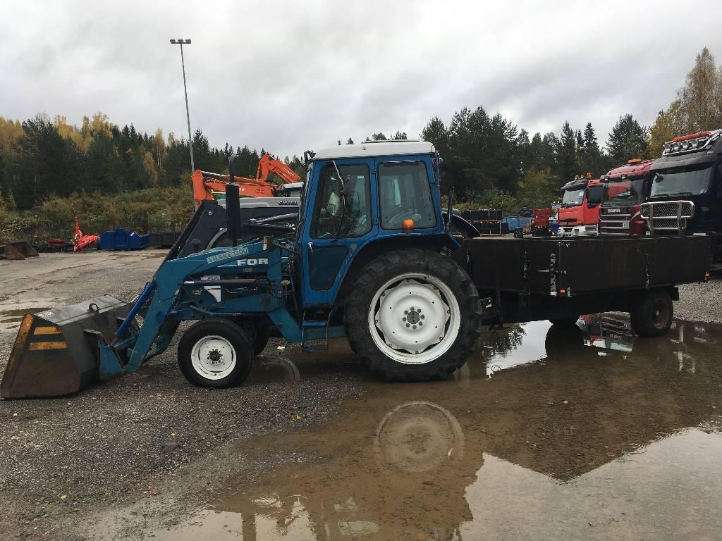 Ford 5610, Traktorit, Maatalous