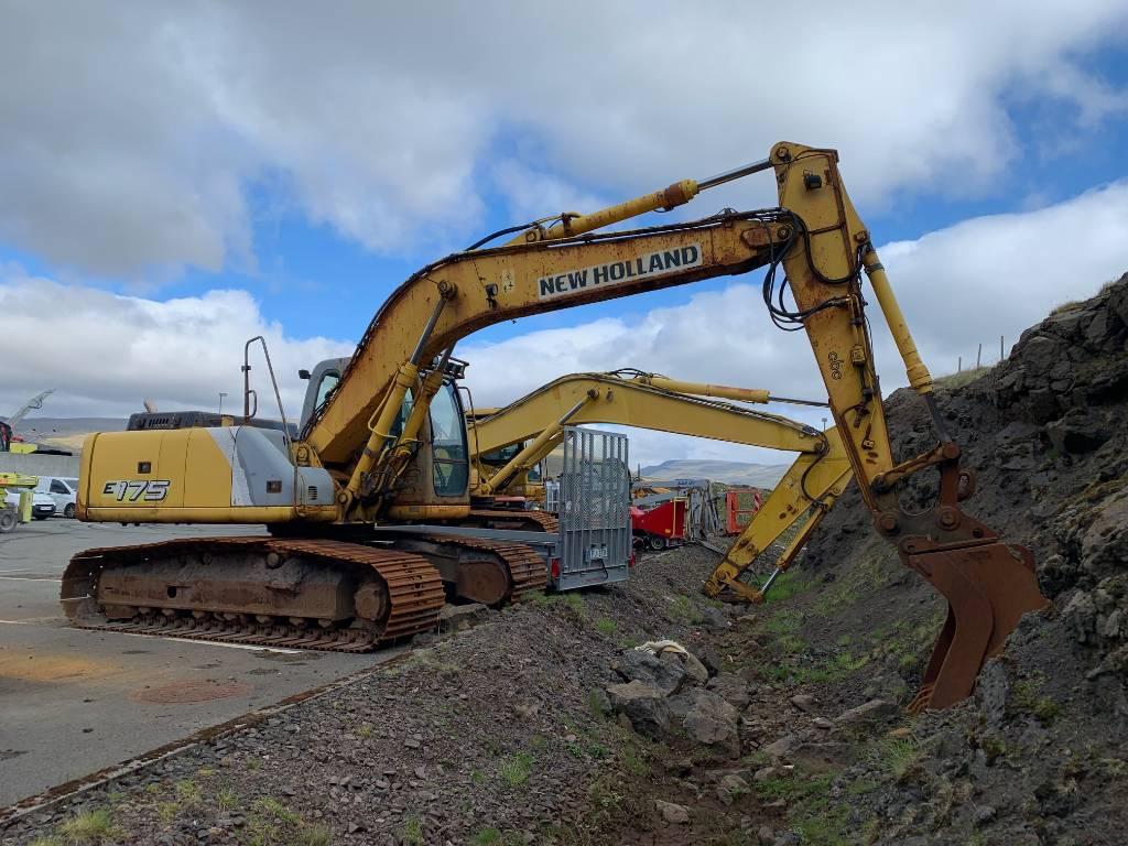 New Holland E 175, Crawler excavators, Construction